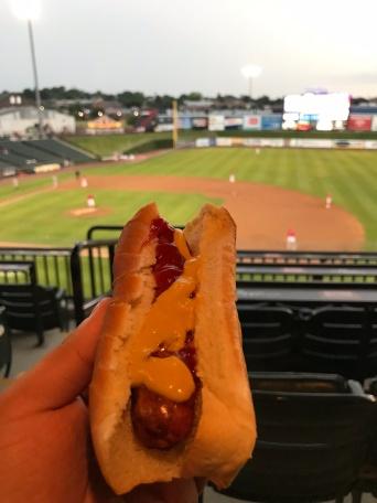 Lancaster Barnstormers Hot Dog